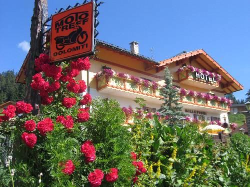 Hotel Millefiori, in Val di Fassa col cane