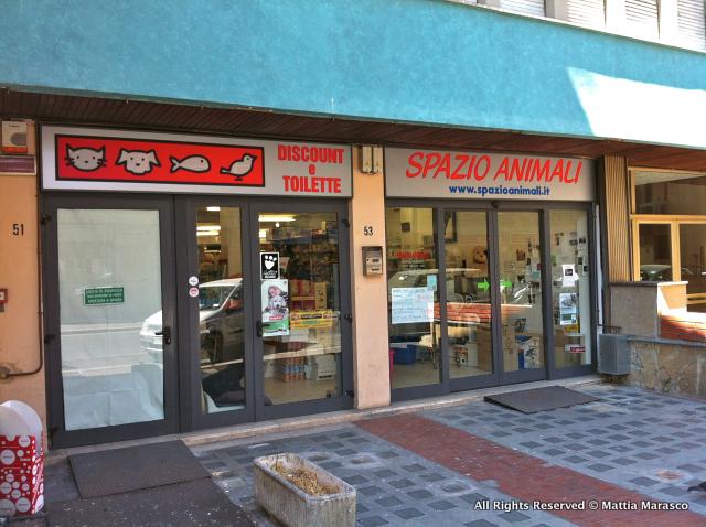 Spazio Animali, ottimo negozio per animali di Firenze